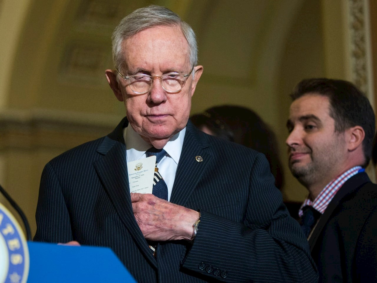 Harry Reid, the former Senate majority leader, has had a longtime interest in space phenomena
