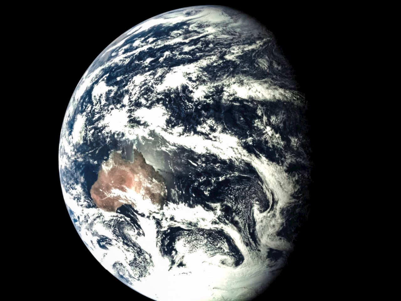 A view of Earth