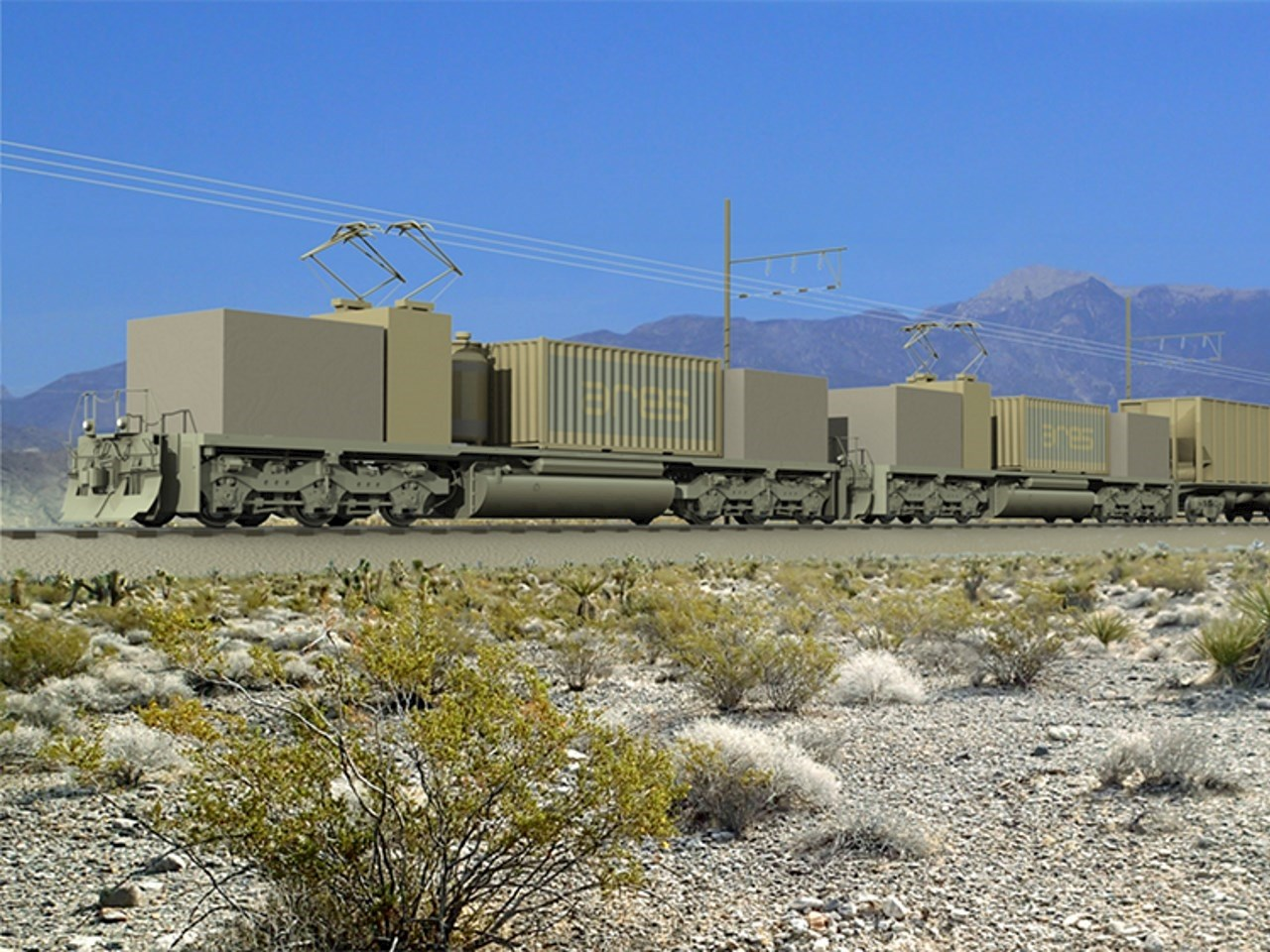 Artist's rendition of the future ARES facility in Pahrump, Nevada