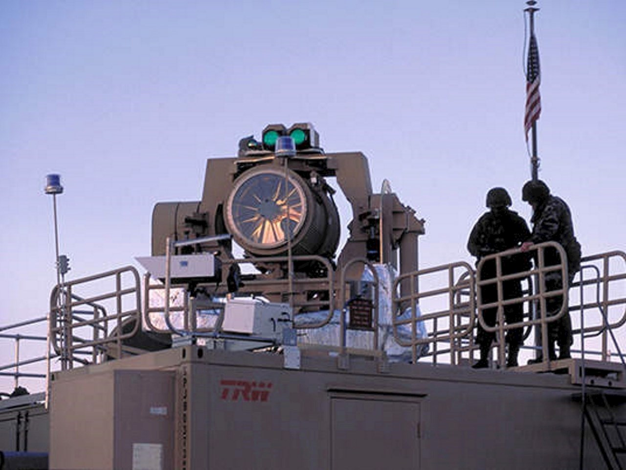 Ground-based Tactical High Energy Laser